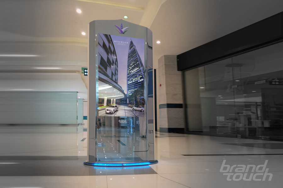 Digital Signage Totems Amp Touch Screens Brand Touch