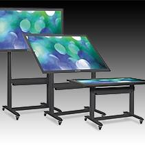 touch table kiosk wall hybrid