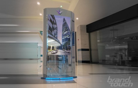 ZilverSlate ultra-luxury digital totem UAE