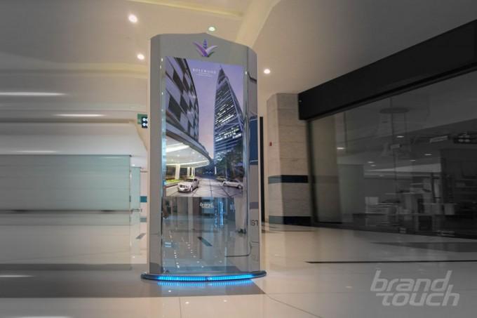 ZilverSlate ultra-luxury digital totem UAE