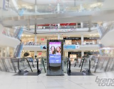 ZilverSlate EU digital totems for Bulgaria Mall