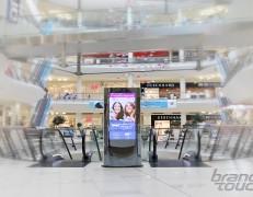 ZilverSlate EU digital totems for Bulgaria Mall