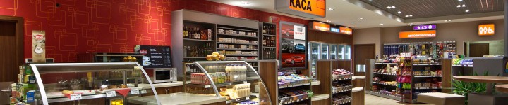 A5 audience-analytics national digital signage displays network for LUKOIL